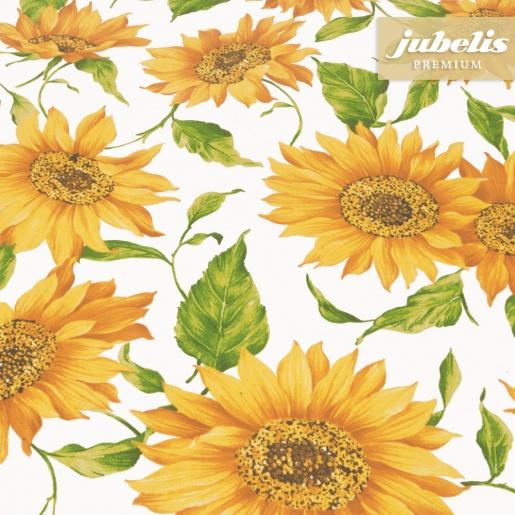 Beschichtete Baumwolle abwaschbar Sunflower III