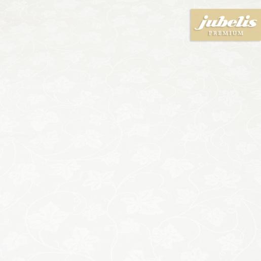 Beschichtete Baumwolle abwaschbar Elli weiß III 100 cm x 140 cm