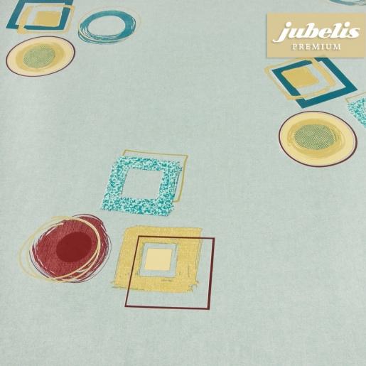 jubelis premium wachstuch extradick marlo graublau h 110 cm x 140 cm k chentisch. Black Bedroom Furniture Sets. Home Design Ideas
