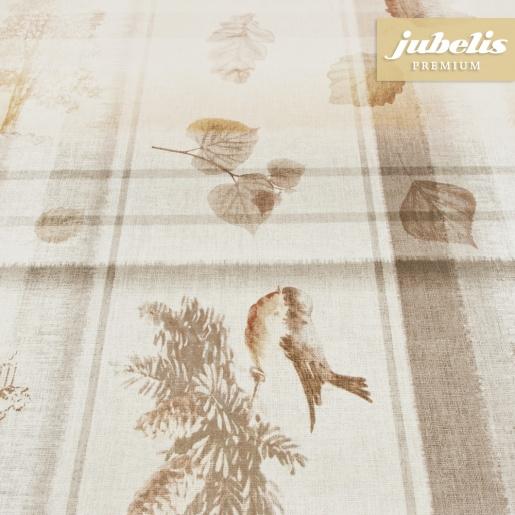 Premium Wachstuch extradick Henley beige H 150 cm x 140 cm