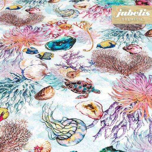 Textiler Luxus-Tischbelag Creature marine III