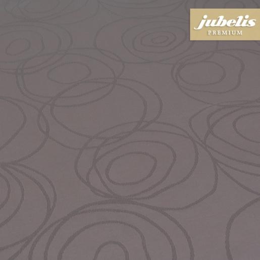 Textiler Luxus-Tischbelag Lana marone III 130 cm x 140 cm