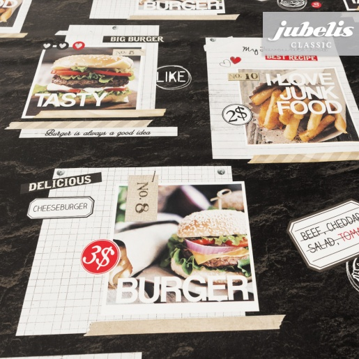 Wachstuch Burger II