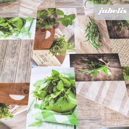 Wachstuch Herbs I
