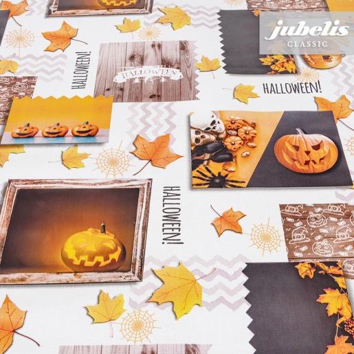 Wachstuch Halloween P 110 cm x 140 cm Küchentisch
