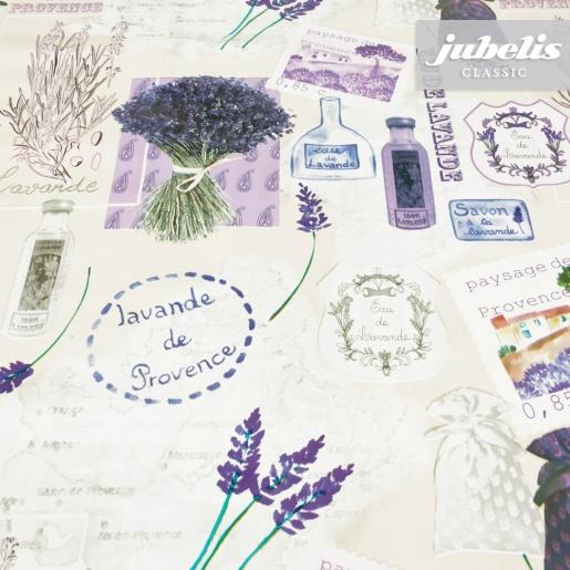 Wachstuch Potpourri Lavendel P 100 cm x 140 cm