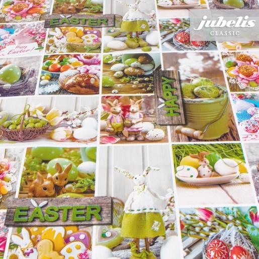 Wachstuch Happy Easter P
