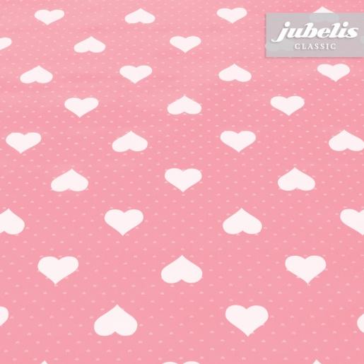 Wachstuch Romance rosa H