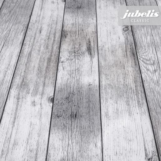Wachstuch Holz grau P 300 cm x 140 cm