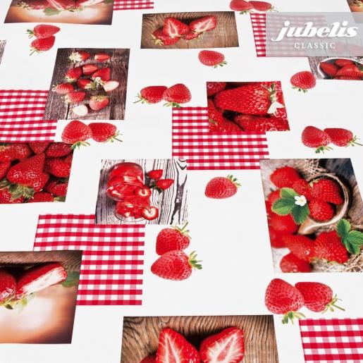 Wachstuch Strawberry II 130 cm x 140 cm