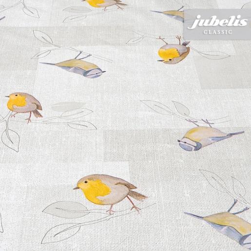 Wachstuch Birdies II 110 cm x 140 cm Küchentisch