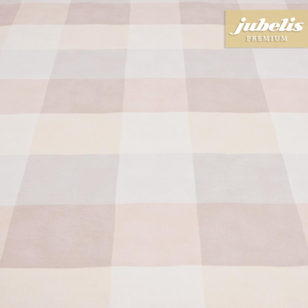 jubelis beschichtete baumwolle abwaschbar edith beige h 140 cm durchmesser rund. Black Bedroom Furniture Sets. Home Design Ideas