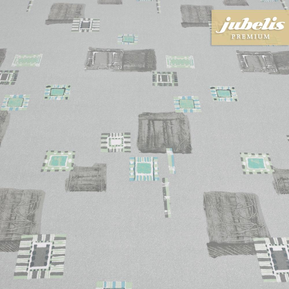 jubelis beschichtete baumwolle abwaschbar inka grau h. Black Bedroom Furniture Sets. Home Design Ideas