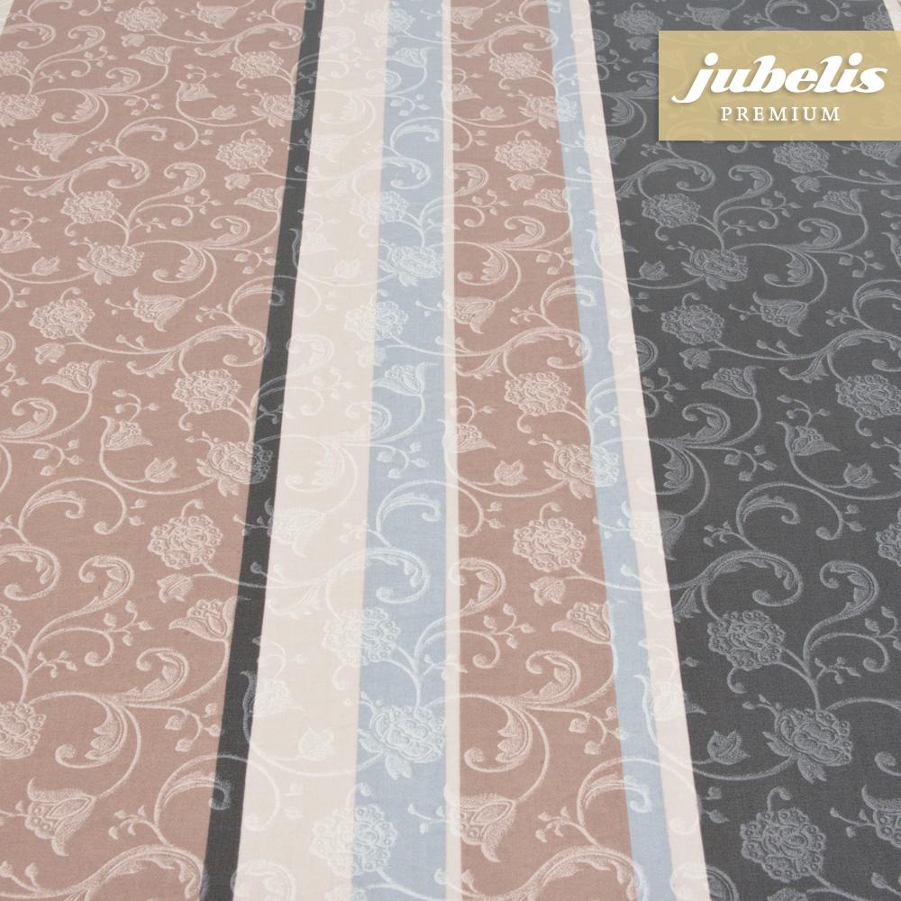 jubelis beschichtete baumwolle abwaschbar lisanne taupe h. Black Bedroom Furniture Sets. Home Design Ideas