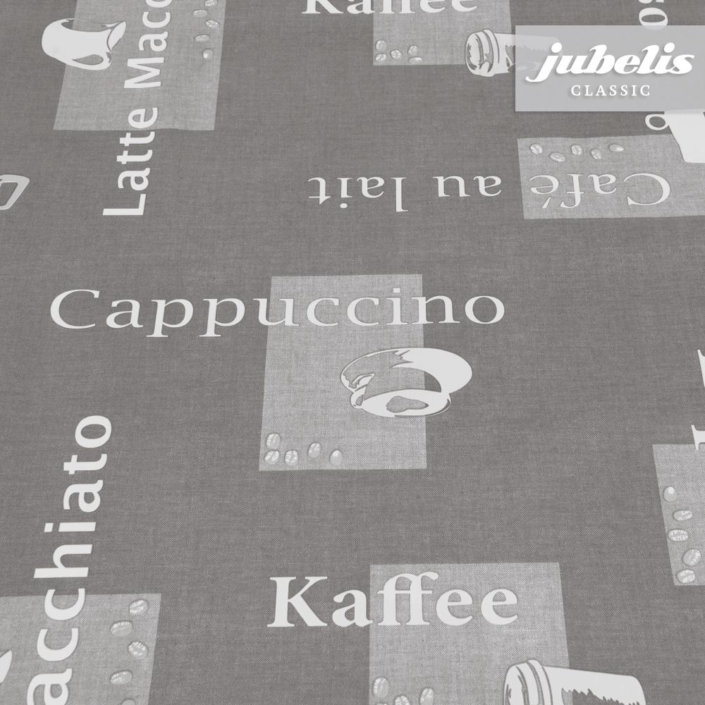 jubelis wachstuch cappuccino grau h. Black Bedroom Furniture Sets. Home Design Ideas