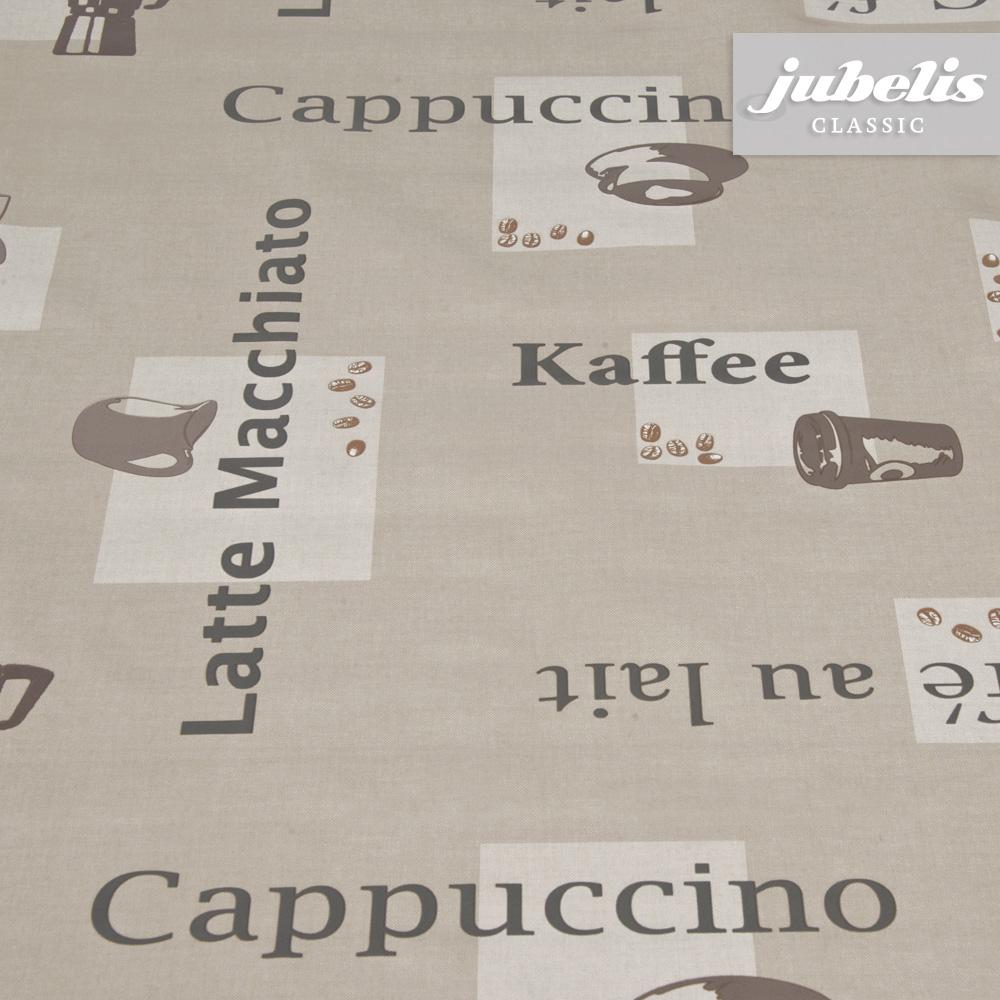 Tapete Maritim Gestreift : jubelis? Wachstuch Cappuccino karamel H