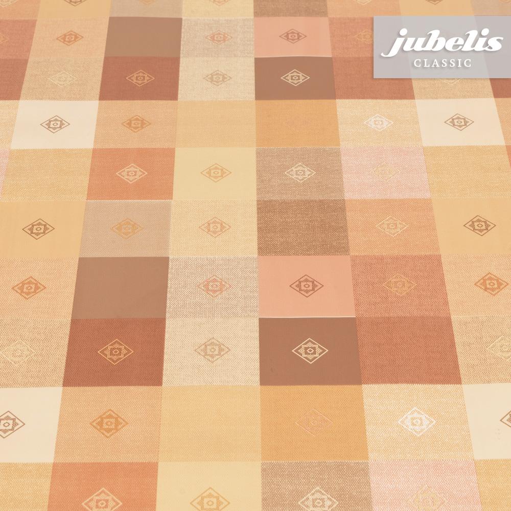jubelis wachstuch victor apricot h 110 cm x 140 cm k chentisch. Black Bedroom Furniture Sets. Home Design Ideas