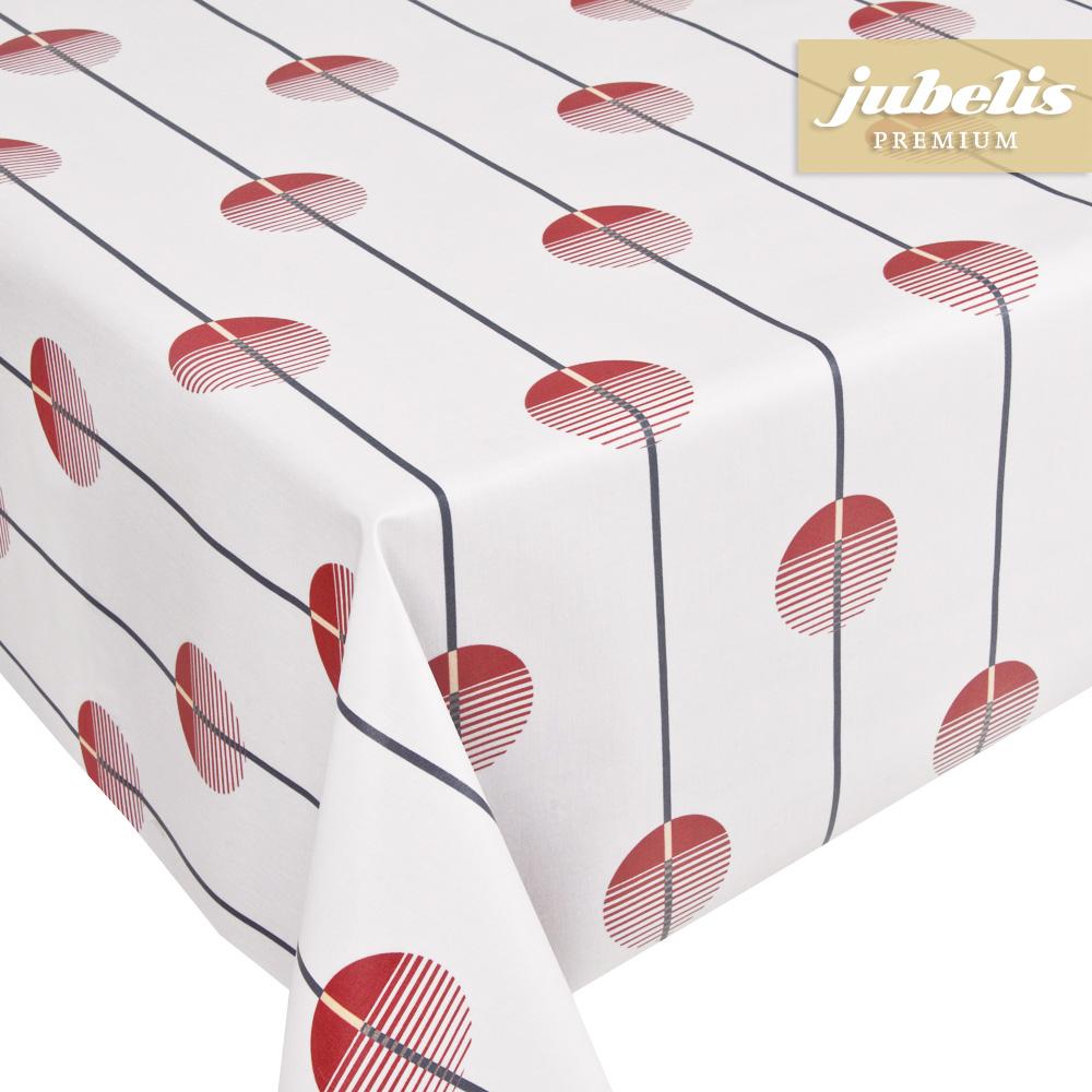 jubelis beschichtete baumwolle abwaschbar lola rosa h 140 cm durchmesser rund. Black Bedroom Furniture Sets. Home Design Ideas