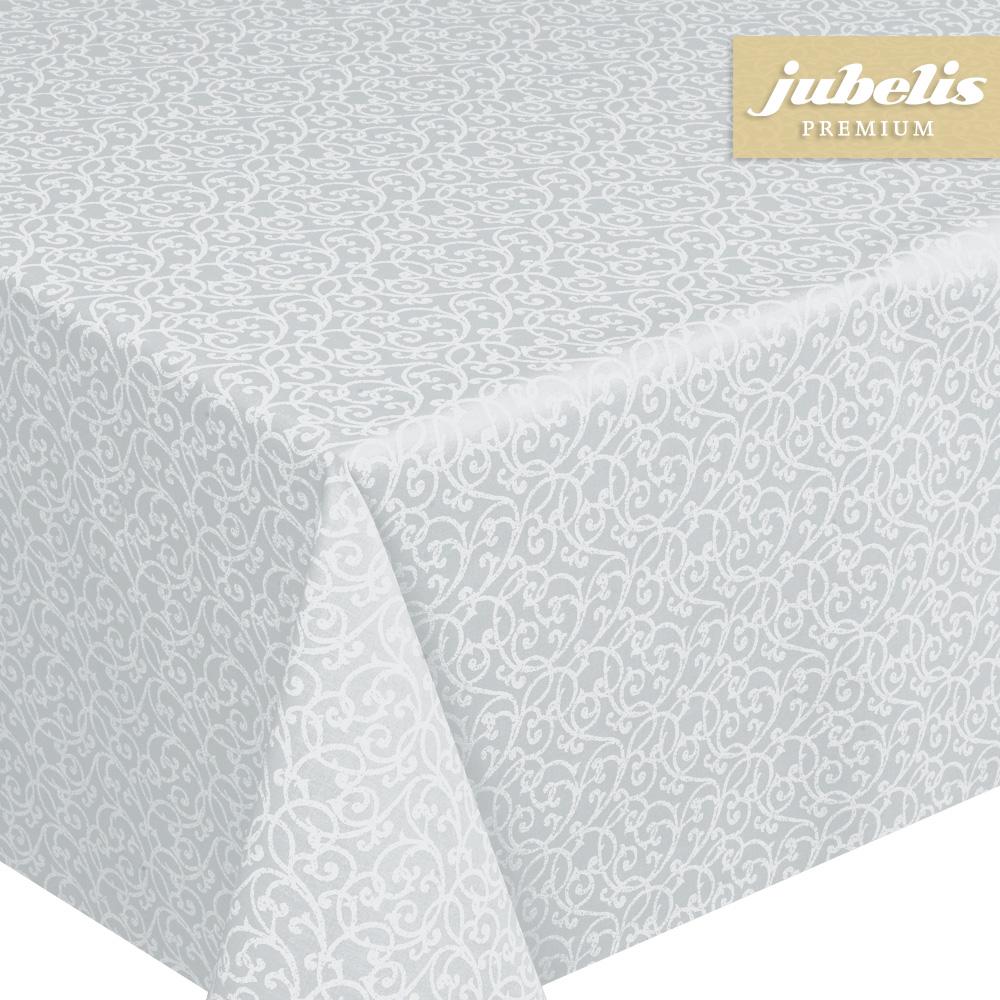 jubelis beschichtete baumwolle abwaschbar isabell grau iii 230 cm x 140 cm. Black Bedroom Furniture Sets. Home Design Ideas