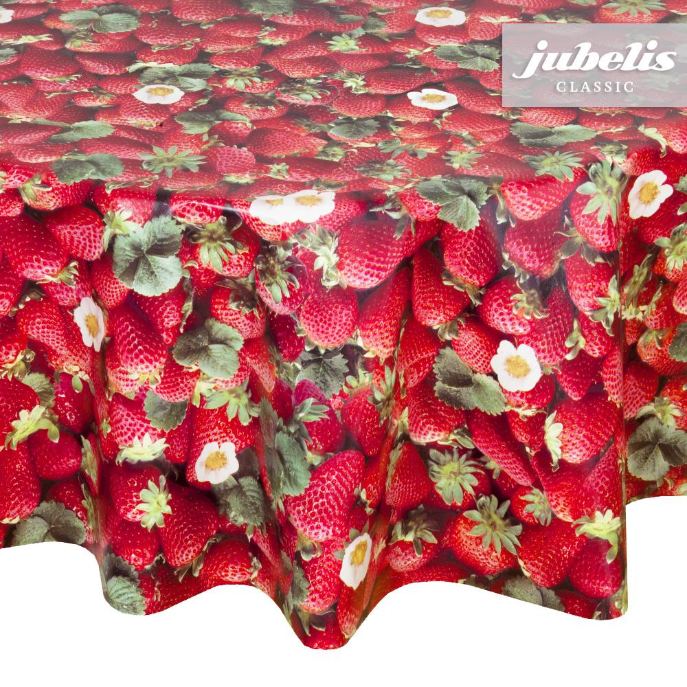 jubelis wachstuch erdbeeren i. Black Bedroom Furniture Sets. Home Design Ideas