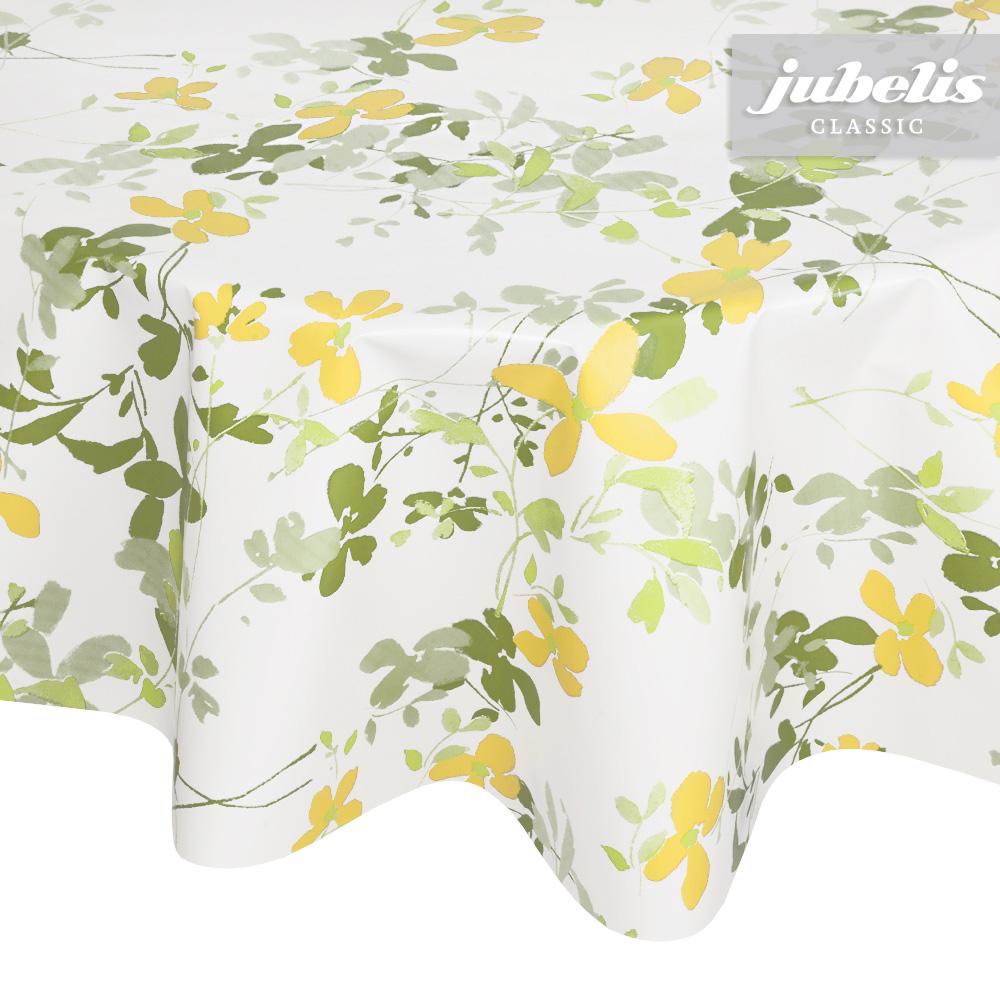 jubelis wachstuch verenice gr n gelb h. Black Bedroom Furniture Sets. Home Design Ideas