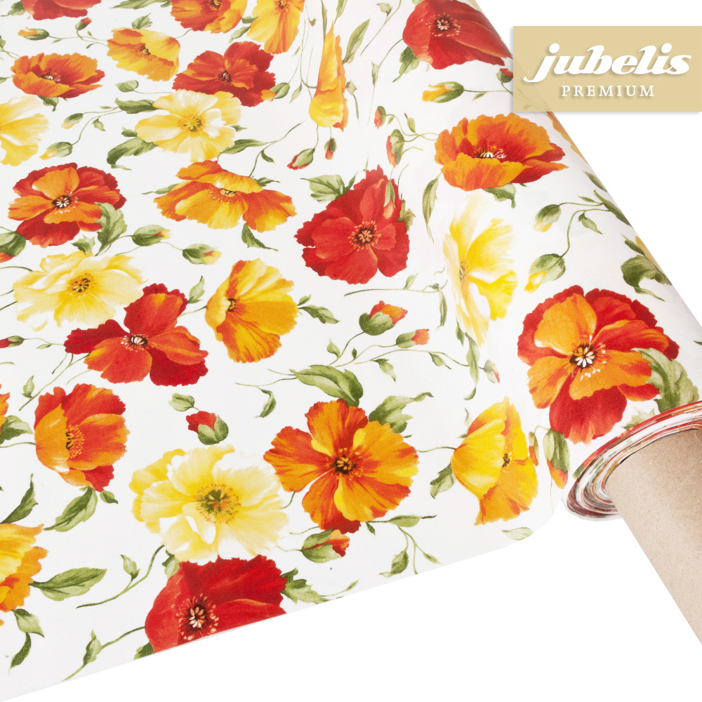 jubelis beschichtete baumwolle abwaschbar emilia iii 110 cm x 140 cm k chentisch. Black Bedroom Furniture Sets. Home Design Ideas
