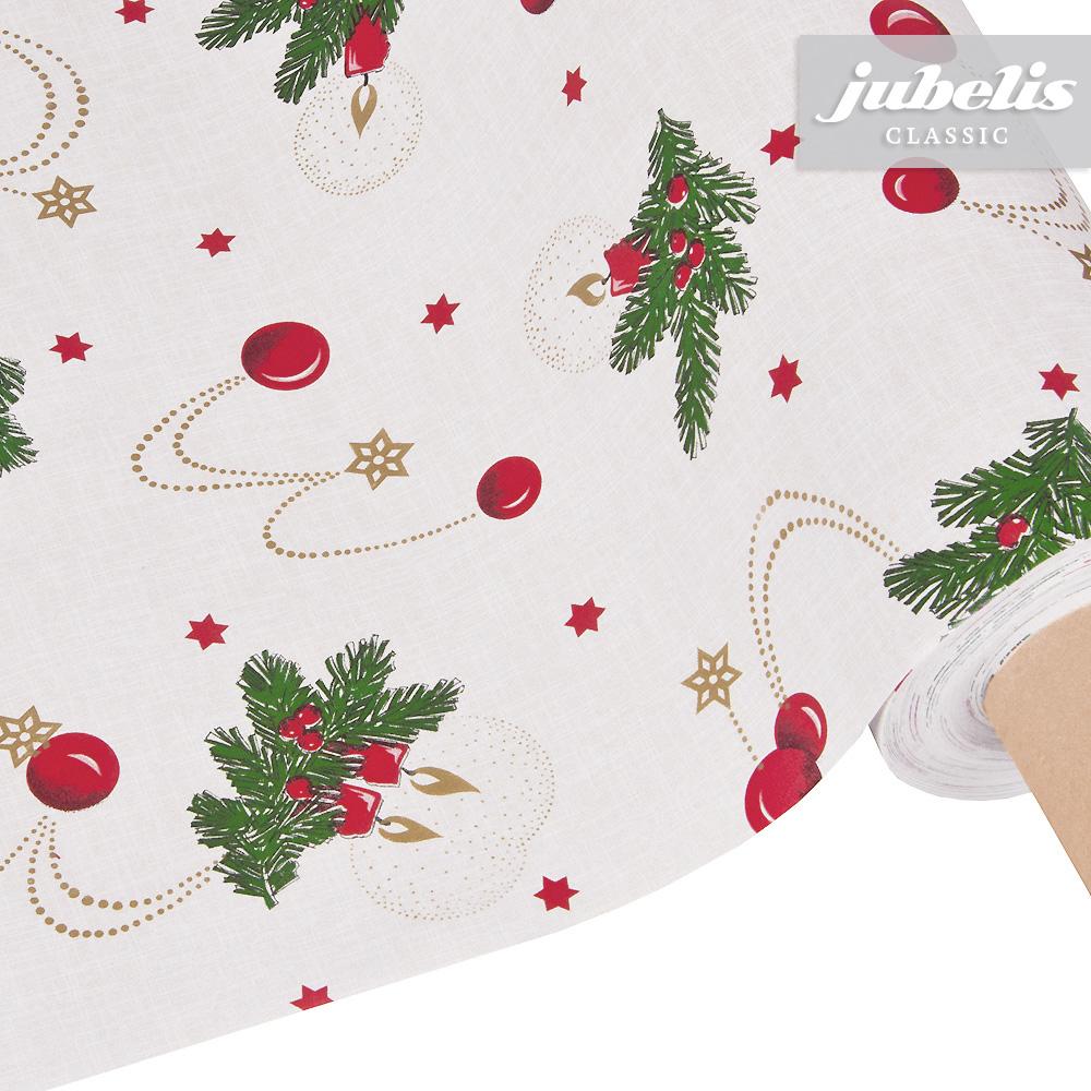 jubelis wachstuch weihnachten beige m 100 cm x 140 cm